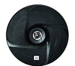 JBL GT6-6 - Altavoces coaxiales para coche (135W, 93 dB, 165 mm), negro