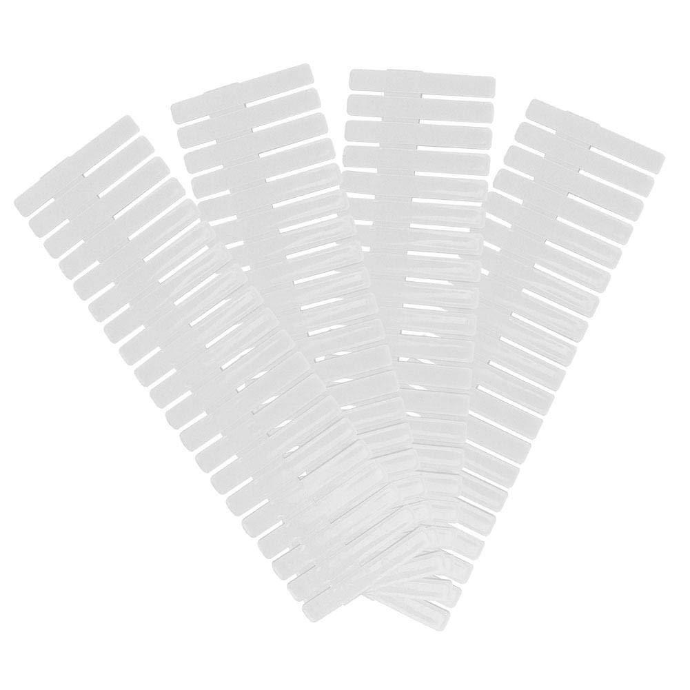4Pcs Organizador de cajones de pl/ástico DIY Divisores de cajones Ajustables Separadores Caja de Almacenamiento Divisores de cajones DIY Long Type-Blanco Asixx Divisores de cajones Ajustables