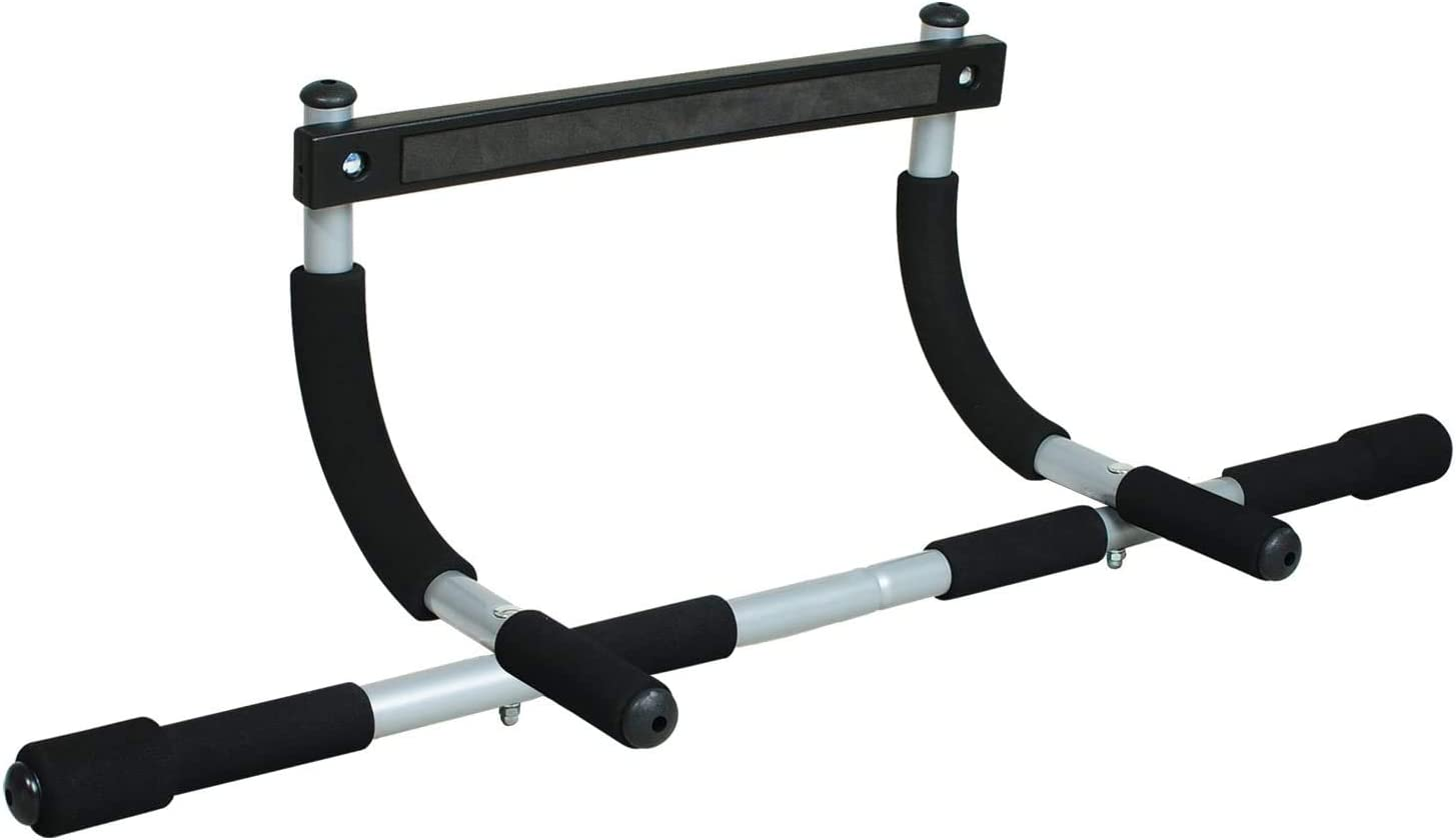 Pull Up Bar,pull up bar for doorway,doorway pull up bar,Multifunctional Portable Gym System,Sit Up Door Bar Portable Gym Chin-Up for Upper Body Workout Doorway Gym upper body exercise barbell