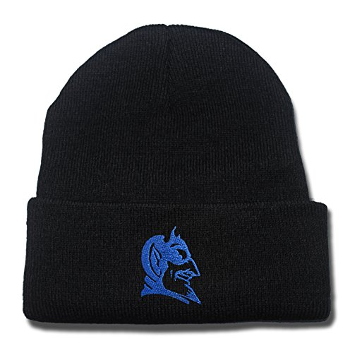 Duke Blue Devils Logo Beanie Fashion Unisex Embroidery Beanies Skullies Knitted Hats Skull Caps