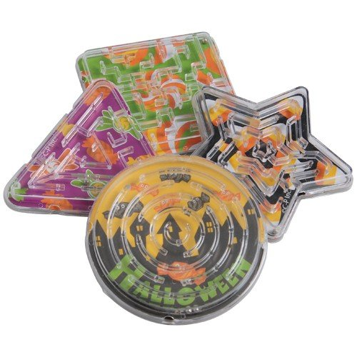 Halloween Candy Maze Puzzles 12 Pieces ()