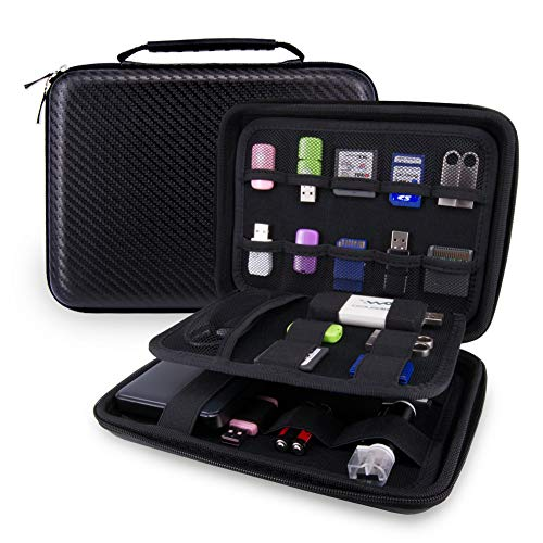 USB Flash Drive Case Bag / Hard Drive Case Bag - Wolven Portable EVA Waterproof Shockproof Hard Drive Case / USB Flash Drive Case / GPS Case / Digital Camera Case / Game Console Case / Card Case ETC