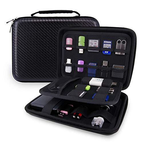 USB Flash Drive Case Bag / Hard Drive Case Bag - Wolven Portable EVA Waterproof Shockproof Hard Drive Case / USB Flash Drive Case / GPS Case / Digital Camera Case / Game Console Case / Card Case ETC ()