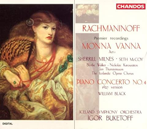 Rachmaninov: Mona Vanna Act 1 / Piano Concerto No. 4 (Black Symphony No 4)