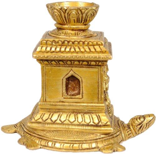 Incense-Sticks-Stand-on-Tortoise-Brass-Statue