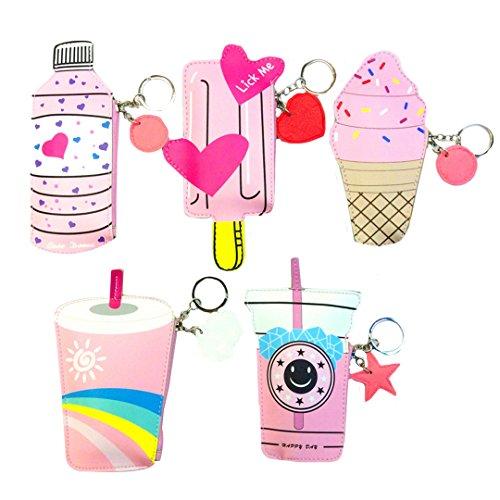 ice cream money coin purse - 2