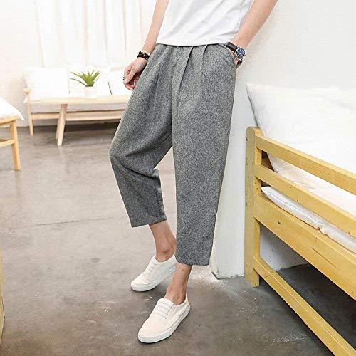 Uomo Lana Ufige Pantaloni Design Jeans Da Abiti Stretch Di Grau Taglie Nne Slim Comode Regular Harem Fashion Larghi Hx Base Sport aqXwxtt