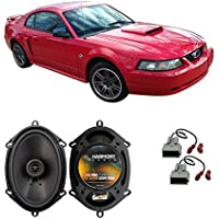 Fits Ford Mustang 1999-2004 Front Door Factory Replacement Harmony HA-R68 Speakers New