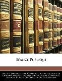 Séance Publique, , 1143569725