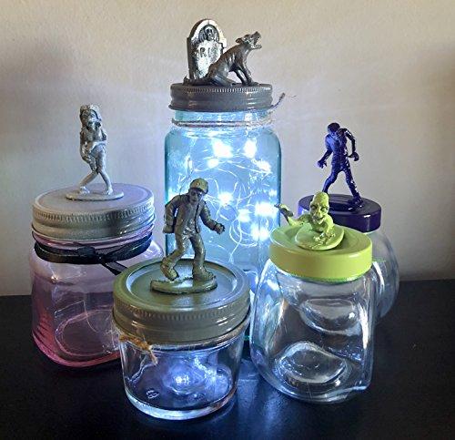 ball blue tinted mason jars - 8