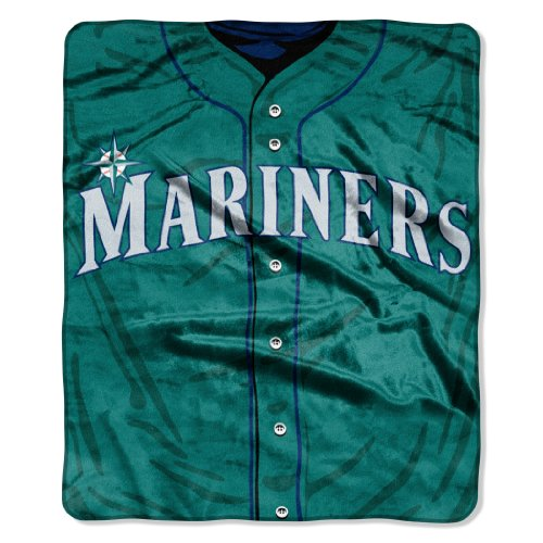 Seattle Mariners Jersey (MLB Seattle Mariners Jersey Raschel Throw, 50 x)