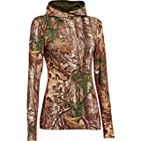 under armour evo cold gear - Under Armour UA Coldgear Infrared Scent Control Evo Hoody - Women's Realtree AP-Xtra / Perfection Large