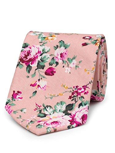- Paisley of London, Boys pink neckties, Boys slim neckties, Floral pattern