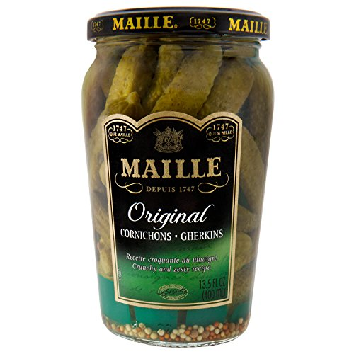 Maille Pickles, Cornichons Original, 13.5 oz, Pack of - Pickles Gherkin