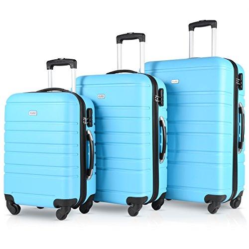 Travel Suitcase Spinner Luggage sets Hardshell Expandable TSA Lock 3 Piece Set(20