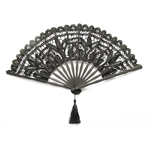 Gaobei Victorian style Romantic Lace Folding Fan