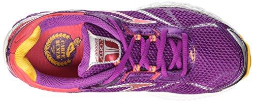 Brooks 3 W Aduro Byzantium Paradise Mujer Pink Running Saffron Zapatillas para de rwqr5Ed