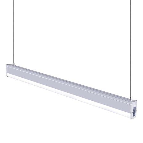 kjlars - Lámpara colgante LED 36 W 4000 K - Lámpara de ...
