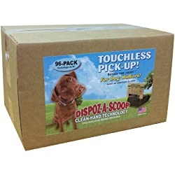 HealthPro Dispoz-A-Scoops for Dogs - 96 pack