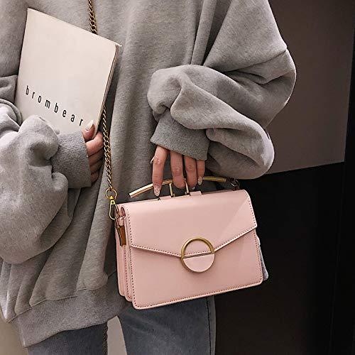 Sac À Simple Messenger Noir Rétro Carré Mode Femme Pour Petit Bag Main Xmy d4nxCd