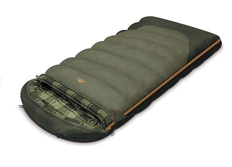 ALEXIKA Schlafsack Canada, linke Reißverschluss - Saco de dormir rectangular para acampada, color azul