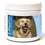 Healthy Breeds Z-Flex Max Hip & Joint Supplement Soft Chews For Golden Retriever, Side View - Over 100 Breeds - Medium & Large Breed Formula - 50 Count