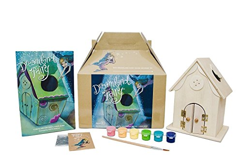 (Dreamland Fairy House Craft Kit with book, fairy dust and paint - Let Her Imagination Sparkle through Story &)
