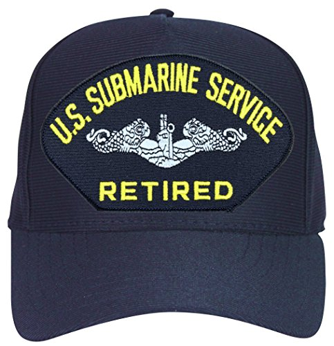MilitaryBest U.S. Submarine Service Retired Enlisted Ball Cap