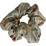 Maxfeel 100% Pure Muberry Silk Hair Scrunchie Multicolor