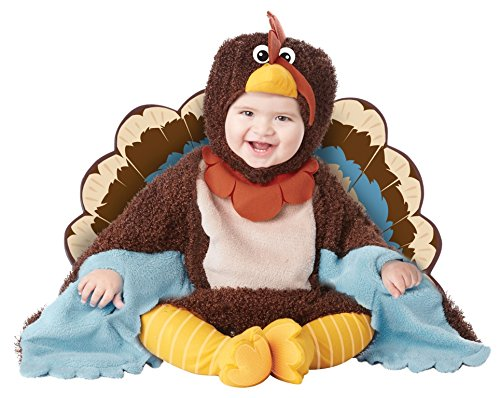 California Costumes Baby's Gobble Gobble Infant, Multi, (Turkey Costume Baby)