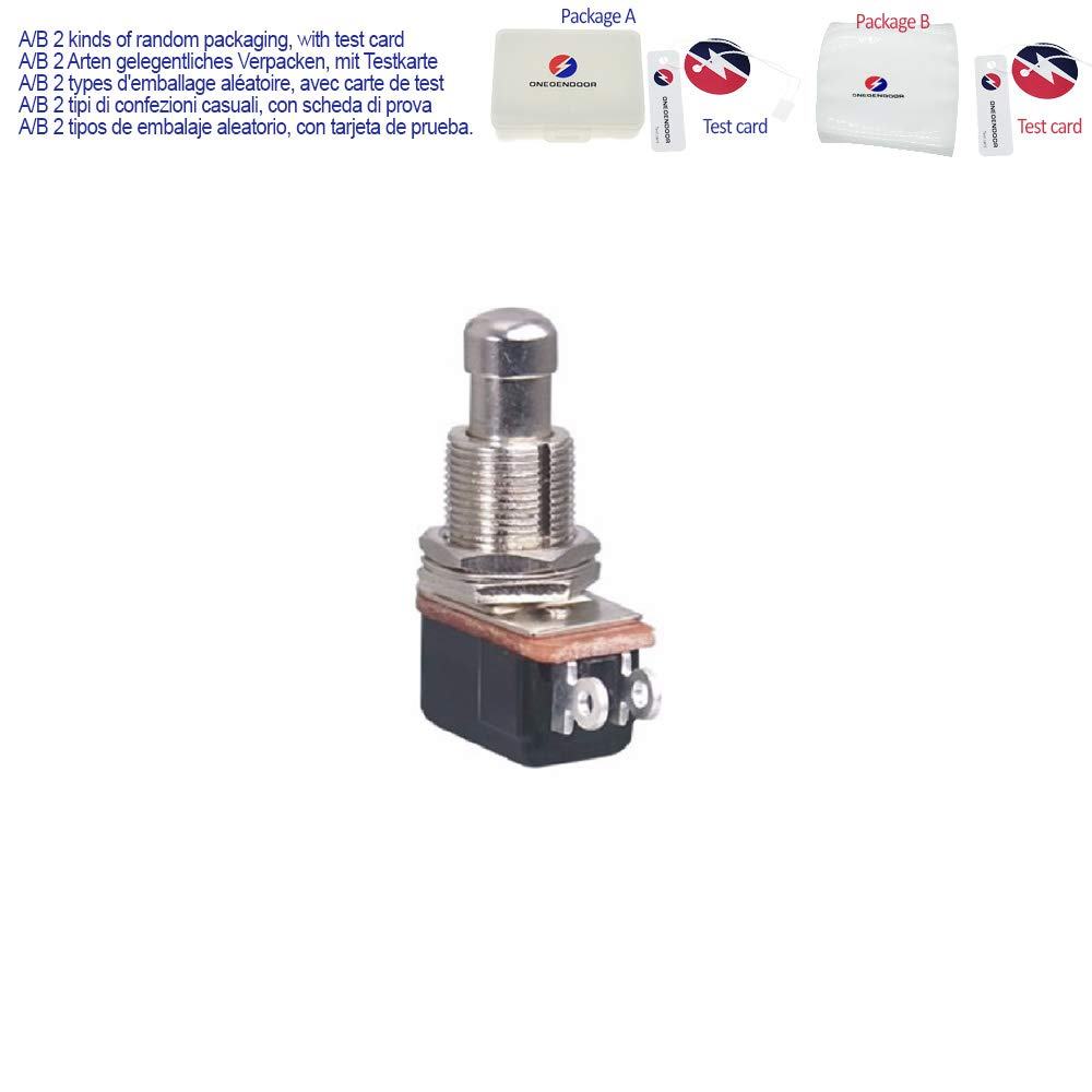 Amazon.com: 5PCS Off/(ON) Momentary Push Button Switch Foot ...