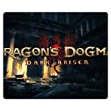 30x25cm 12x10inch gaming mousemat cloth - rubber antislip gift Dragon's Dogma