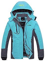 Wantdo Women's Mountain Waterproof Ski J...