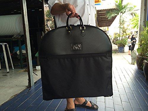[Elegant MS garment bag,hang inside suits,zip secures around once fold in half] (Rolling Dance Costumes Carrier)