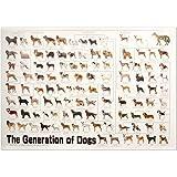犬の系統図(血統) ポスター Dog Generation