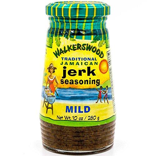 Walkerswood Jamaican Jerk Mild Seasoning, 10 Ounce (Rub Jerk)