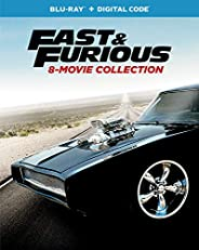 Fast & Furious 8-Movie Collection [Blu-