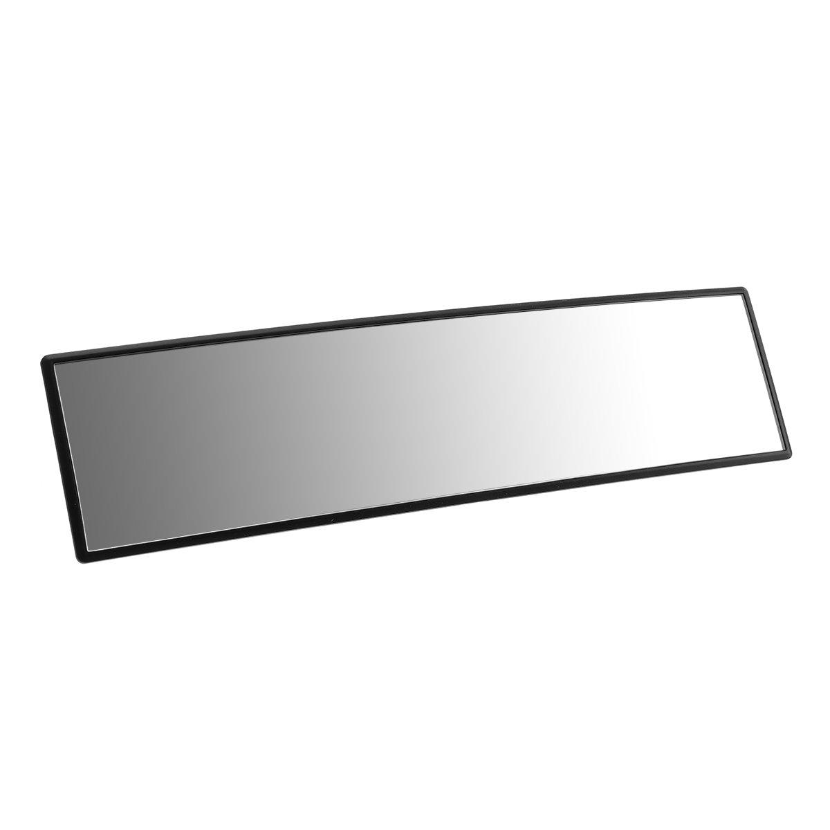 ELUTO Wide Angle Rear View Mirror Universal Interior Curve Convex Rear View Mirror Clip on Original Mirror 12'' (305mm)