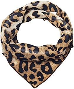 Giveaway: Women's Small Square Leopard Pattern Hair Scarfs Scarves…