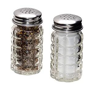 Retro Style Salt And Pepper Shakers With