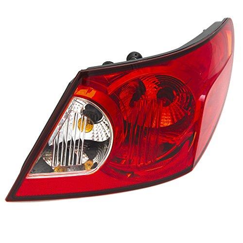 CarPartsDepot 07 08 Chrysler Sebring Sedan Right Outer Tail Light CH2801176 New Lens Housing R