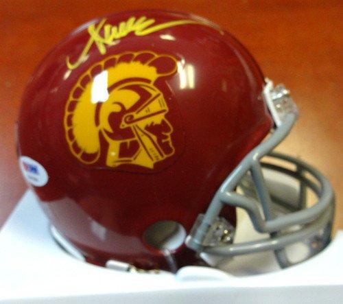 Marcus Allen Signed USC Trojans Replica Mini Helmet - PSA/DNA Authentication - Autographed NFL Football - Allen Helmet Replica Marcus