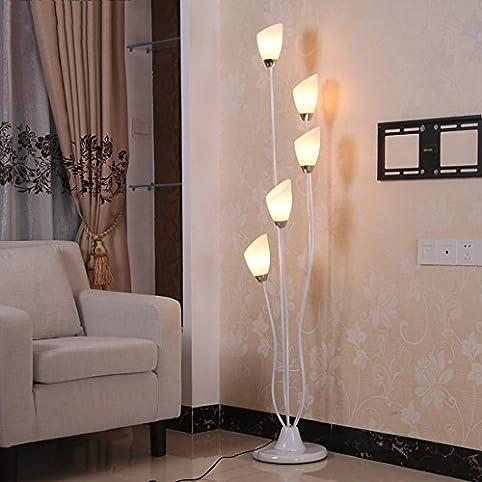 Illuminazione moderna Lampada da terra, interni Lampada da letto ...