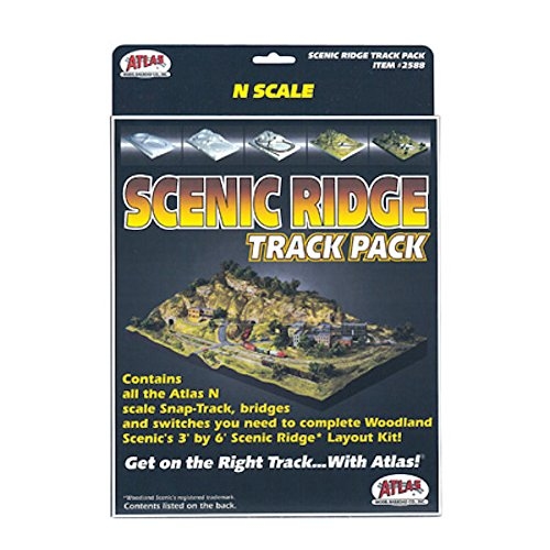 N Code 80 Scenic Ridge Track Pack Atlas Trains Atlas Track Layout