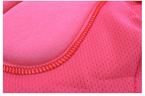 Calzoncillos rosa Aiqi para bicicleta de mujeres acolchados TSxd0qxw