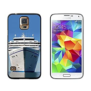 New Style Cruise Ship on Ocean - Vacation - Snap On Hard Protective Case for Samsung Galaxy S5 - Black