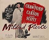 Mildred Pierce POSTER Movie (1945) Style B 11 x 14 Inches - 28cm x 36cm (Joan Crawford)(Jack Carson)(Zachary Scott)(Eve Arden)(Ann Blyth)(Bruce (Herman Brix) Bennett)