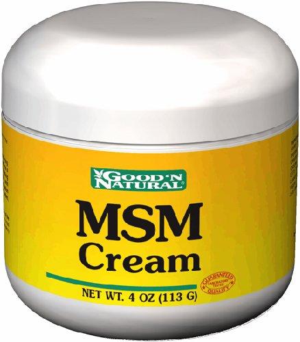 Good 'N Natural - MSM Cream - 4 oz