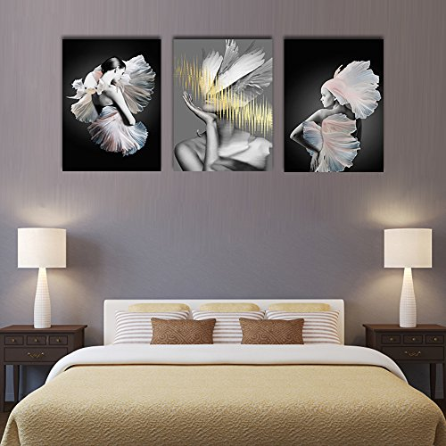 Yatsen Bridge 3 Pieces Modern Painting Abstract Pictures Fashion ...