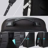 BOPAI Anti-Theft Business Backpack 15.6 Inch Laptop Water-Resistant with USB Port Charging Travel Backpack Anti-Glare Functional Rucksack Light-Weight Backpack for Men
